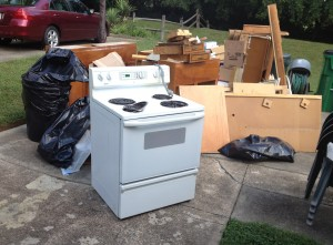 Charlotte debris removal, Appliance Recycling, Hauling